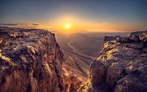 landscape, rock