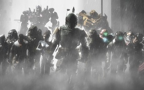 Boba Fett, Crysis, Dead Space, Gordon Freeman, Optimus Prime, Sarah Kerrigan