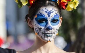 Dia de los Muertos, girl