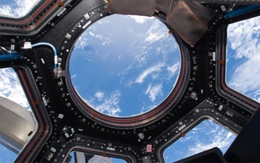 space, nature, International Space Station, Earth