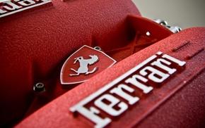 Ferrari, motors, engines, car