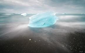 landscape, ice