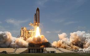 space shuttle, Launch, Space Shuttle Atlantis, NASA
