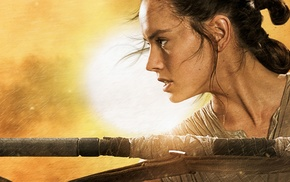 Star Wars Episode VII, The Force Awakens, movies, Daisy Ridley