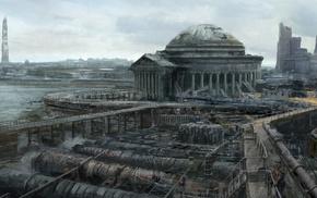 video games, Fallout, artwork, Fallout 3