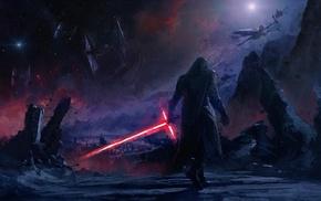 Star Wars Episode VII, The Force Awakens, Star Wars, Kylo Ren