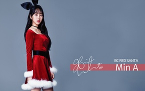 Min A, K, pop, AOA, Christmas