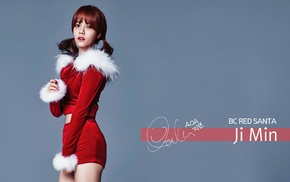 AOA, Christmas, Jimin, K, pop