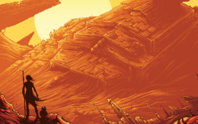 Star Wars, Dan Mumford, Star Wars Episode VII, The Force Awakens