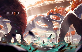 Digital 2D, artwork, Duelyst, concept art