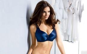 model, girl, Emily Ratajkowski, lingerie, brunette
