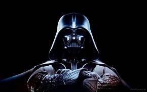 Star Wars, black background, Darth Vader