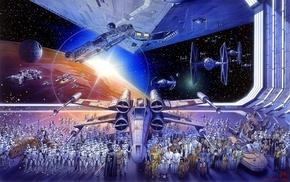 stormtrooper, X, wing, TIE Fighter, Star Wars, Millennium Falcon