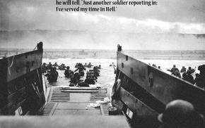 World War II, quote