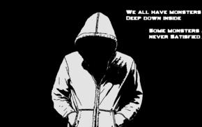dark, quote