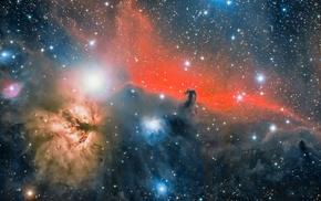 stars, space, nebula