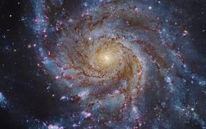 NASA, planet, sky, stars, galaxy, science