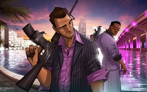 tommy vercetti, PC gaming, lance vance, Grand Theft Auto Vice City