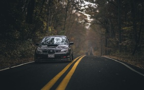 Subaru, vehicle, road, car