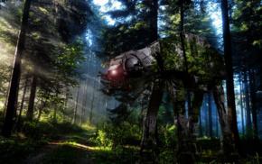 AT, Galactic Empire, Star Wars, Endor