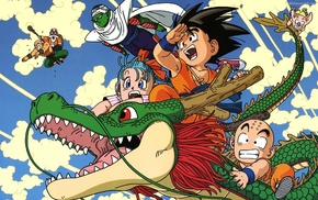 Dragon Ball Z, anime, Dragon Ball, Krillin, Son Goku, Piccolo