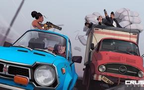 cars, action figures, Mafia