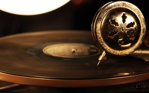 playing, vinyl, vintage, circle, technology, music