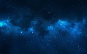 space, nebula, stars