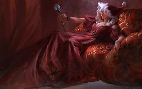 artwork, Christmas, fantasy art