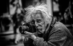 monochrome, camera, photographers