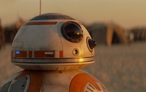 Jakku, BB, 8, robot, Star Wars, Star Wars Episode VII