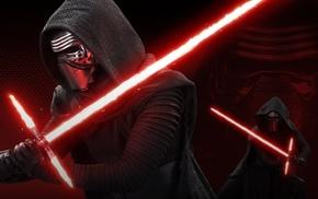 lightsaber, Star Wars, Kylo Ren, Sith, Star Wars Episode VII, The Force Awakens