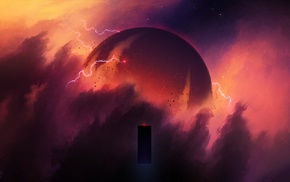 science fiction, 2001 A Space Odyssey, Christopher Balaskas, artwork