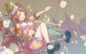 crown, Love Live, Minami Kotori, anime, anime girls, thigh