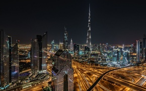 city, skyscraper, Dubai, United Arab Emirates