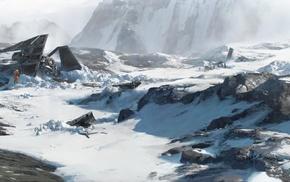 snow, Hoth, Star Wars