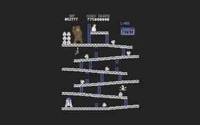 video games, retro games, Donkey Kong, Star Wars