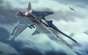 sky, aircraft, Jet