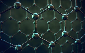texture, structure, simple, graphene, depth of field, blurred