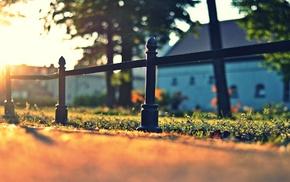 fence, urban