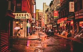 New York City, urban