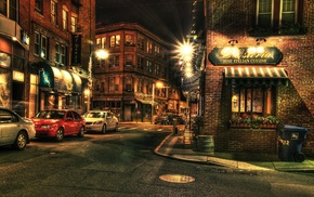Boston, car, urban, city