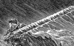 Berserk, Guts, Kentaro Miura, manga