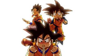 Son Gohan, Dragon Ball Z, Son Goten, Son Goku, anime