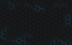 hexagon, minimalism