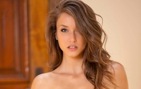 Malena Morgan, bare shoulders