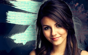 girl, Victoria Justice, Photoshop, photoshopped, brunette, face