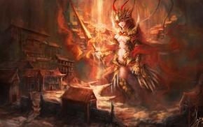 angel, fantasy art