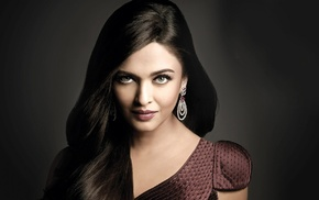 prom, girl, dress, Aishwarya Rai Bachchan, brunette, face