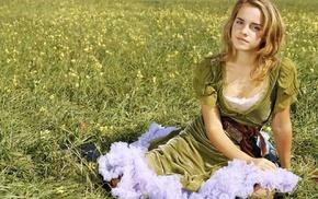 blonde, Emma Watson, girl, actress